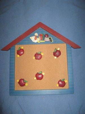 Cork Messge borad - School house design