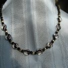 Necklace -- Black & Clear