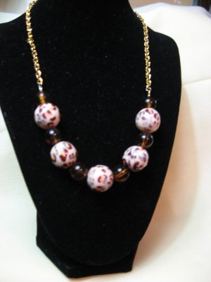 Necklace - Animal Print