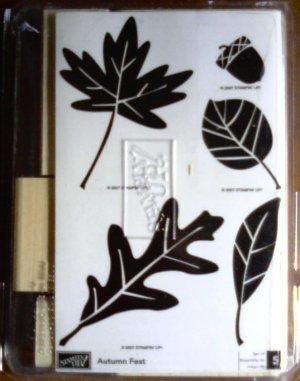 Autumn Fest rubber stamp set