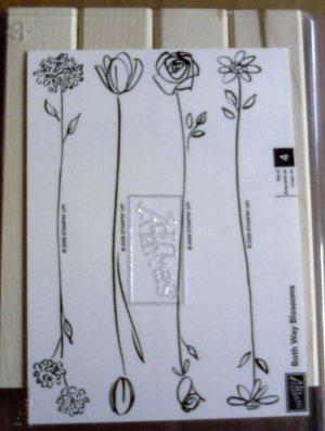 Both Way Blossoms stamp set