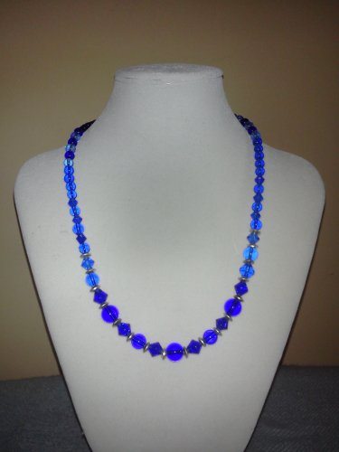 Blue Sapphire Shades Necklace