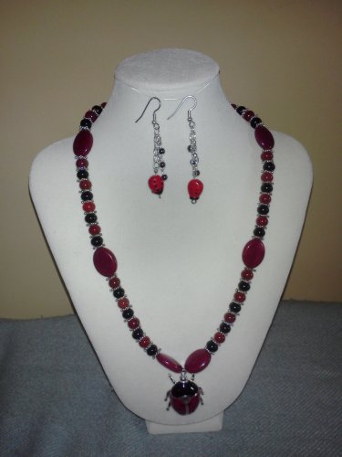 Lady Bug 2 Necklace