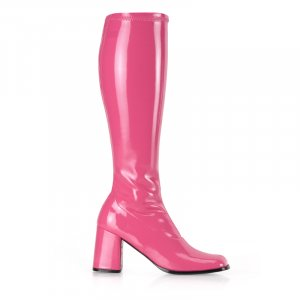 RETRO KNEE HIGH GOGO BOOTS 14 COLORS AVAILABLE!   GOGO-300