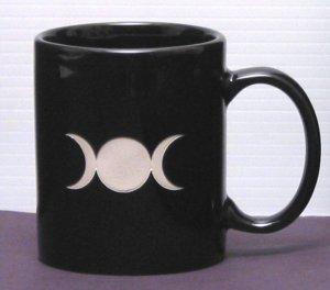Triple Goddess Moon Mug