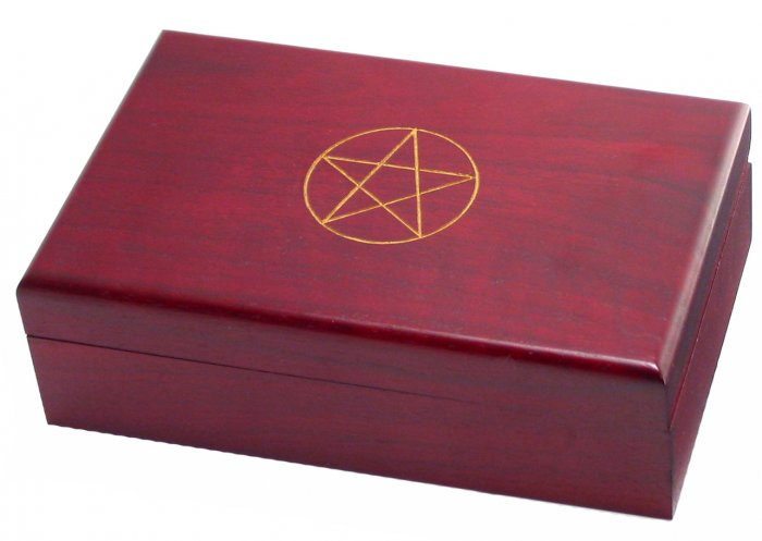 Rosewood Tarot Card Box