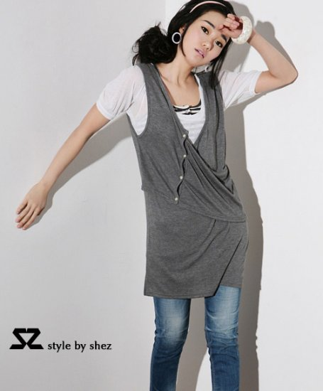 SZ728 grey tee 100% cotton