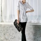 SH148 nice cutting white shirt