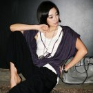 T1358 purple 2pcs included tee