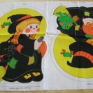 Cute Ghost & Witch ~ Cut & Sew Pattern ~ Halloween