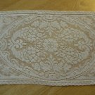 Vintage Filet Lace Rectangle Centerpiece ~ Doily ~ Mat