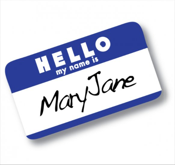 My Name is Mary Jane