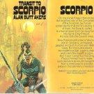 Alan Burt Akers - Transit to Scorpio - UK pbk - 1974 - Dray Prescot - Kenneth Bulmer