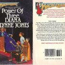 Diana Wynne Jones - Power of Three - 1st prt pbk - 1984