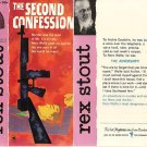 Rex Stout: Nero Wolfe - The Second Confession - 1961 pbk