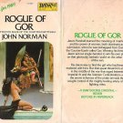 John Norman: Rogue of Gor - Counter-earth Saga #15 - 1st pbk