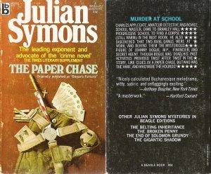 Julian Symons: The Paper Chase - 1971 pbk