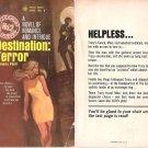 Jessyca Paull: Destination: Terror - 1968 pbk