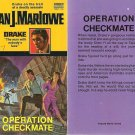 Dan J. Marlowe: Drake #7 - Operation Checkmate - 1972 pbk