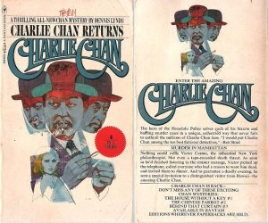 Dennis Lynds: Charlie Chan Returns - 1974 pbk