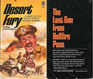 Gordon Landsborough: Desert Fury  - 1972 pbk
