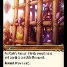 WoW TCG - Outland - Corki's Ransom x4 - NM - World of Warcraft