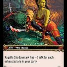 WoW TCG - Outland - Kagella Shadowmark x4 - NM - World of Warcraft