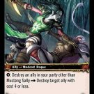 WoW TCG - Outland - Mustang Sally x4 - NM - World of Warcraft