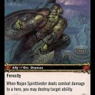 WoW TCG - Outland - Najan Spiritbinder x4 - NM - World of Warcraft