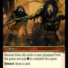WoW TCG - Azeroth - Battle of Darrowshire x4 - NM - World of Warcraft
