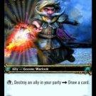 WoW TCG - Azeroth - Bizzik Sparkcog x4 - NM - World of Warcraft