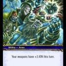 WoW TCG - Azeroth - Heroic Strike x4 - NM - World of Warcraft