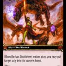 WoW TCG - Azeroth - Karkas Deathhowl x4 - NM - World of Warcraft