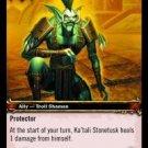 WoW TCG - Azeroth - Ka'tali Stonetusk x4 - NM - World of Warcraft