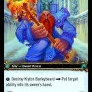 WoW TCG - Azeroth - Kryton Barleybeard x4 - NM - World of Warcraft