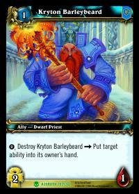WoW TCG - Azeroth - Kryton Barleybeard x4 - NM - World of Warcraft