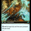 WoW TCG - Azeroth - Medoc Spiritwarden x4 - NM - World of Warcraft