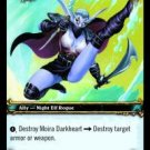 WoW TCG - Azeroth - Moira Darkheart x4 - NM - World of Warcraft