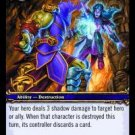 WoW TCG - Azeroth - Shadow Bolt x4 - NM - World of Warcraft