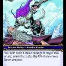 WoW TCG - Azeroth - Sinister Strike x4 - NM - World of Warcraft