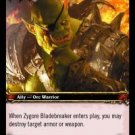 WoW TCG - Azeroth - Zygore Bladebreaker x4 - NM - World of Warcraft