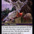 WoW TCG - Dark Portal - Ancestral Spirit x4 - NM - World of Warcraft