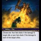 WoW TCG - Dark Portal - Arc of Flame x4 - NM - World of Warcraft