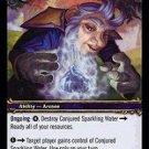 WoW TCG - Dark Portal - Conjured Sparkling Water x4 - NM - World of Warcraft