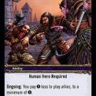 WoW TCG - Dark Portal - Diplomacy x4 - NM - World of Warcraft