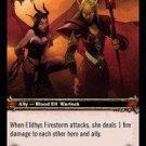 WoW TCG - Dark Portal - Elithys Firestorm x4 - NM - World of Warcraft