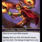 WoW TCG - Dark Portal - Flametongue Weapon x4 - NM - World of Warcraft