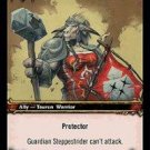 WoW TCG - Dark Portal - Guardian Steppestrider x4 - NM - World of Warcraft
