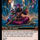 WoW TCG - Dark Portal - Kralnor x4 - NM - World of Warcraft