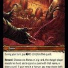 WoW TCG - Dark Portal - Manhunt x4 - NM - World of Warcraft